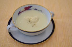 カリフラワーのクリームスープ