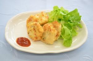 豆腐のチキンナゲット