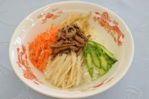 五色野菜のピビンバ