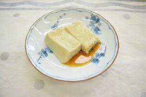 枝豆ごま豆腐
