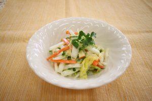 白菜のコールスローサラダ