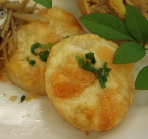 長芋のチーズ焼き