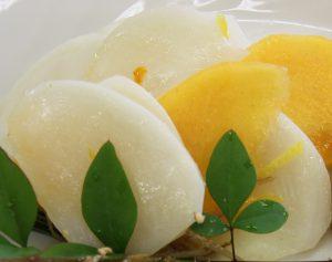 柿・かぶのサラダ