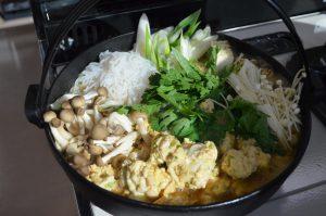 鶏たたき鍋