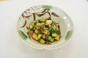 夏野菜の浅漬け(山形のだし)