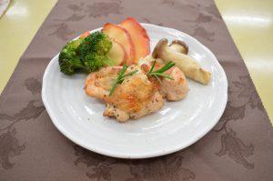 ハーブチキンと野菜のグリル