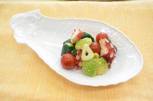 タコと野菜のマリネサラダ