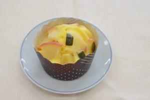 米粉のかぼちゃ蒸しケーキ