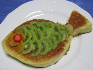 鯉のぼりのホットケーキ